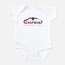 Gene Chapman for President (r Infant Bodysuit