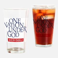 UNDERGOD Drinking Glass