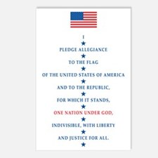 PLEDGE Postcards (Package of 8)