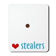 SheltieHeartStealers_BLK Mousepad