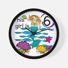 MERMAIDSIX Wall Clock
