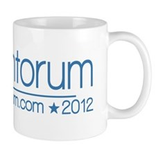10x3_rick_santorum_02_blue Mug