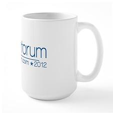 10x3_rick_santorum_02_blue Mug