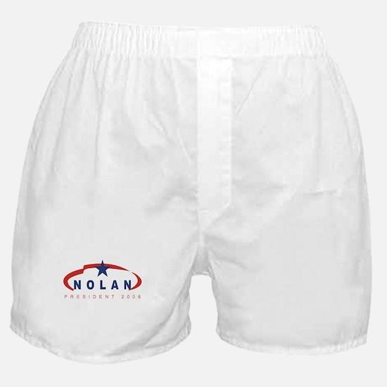 Gary Nolan for President (rib Boxer Shorts