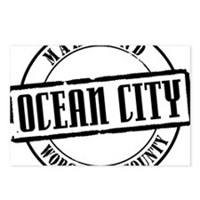 Ocean City Title W Postcards (Package of 8)
