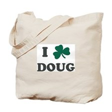I Shamrock DOUG Tote Bag