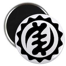 NYAME YE OHENE-BLACK-01 Magnet