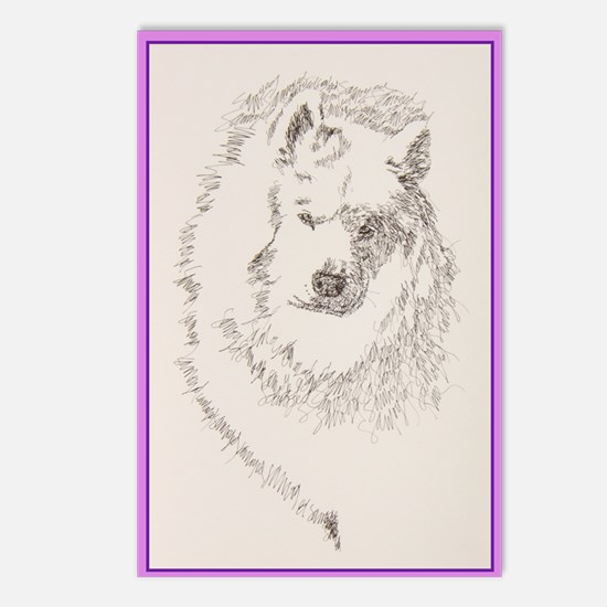 Samoyed_KlineZ Postcards (Package of 8)