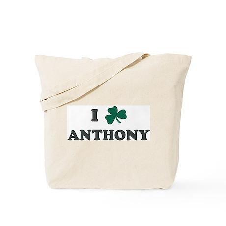 I Shamrock ANTHONY Tote Bag