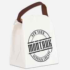 Montauk Title W Canvas Lunch Bag