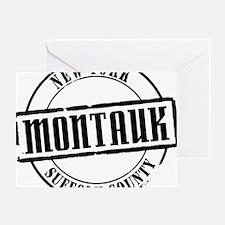Montauk Title W Greeting Card