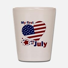 first 4th Shot Glass