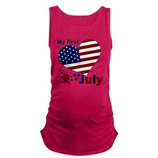first 4th Maternity Tank Top