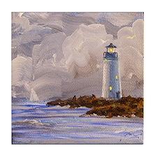 Santa Cruz Lighthouse Tile Coaster