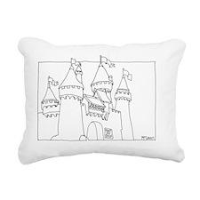 Castle 2 Rectangular Canvas Pillow