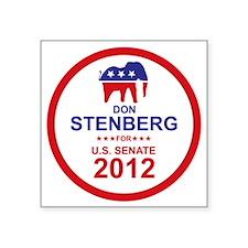 "2012_don_stenberg_main Square Sticker 3"" x 3"""