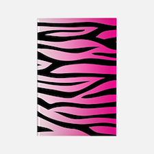 pink-gradient-zebra-3g-hard Rectangle Magnet