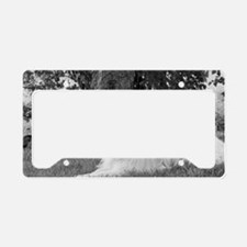 Great Pyrenees License Plate Holder