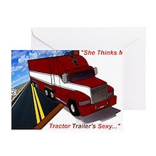 truck2 Greeting Card