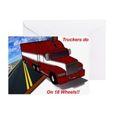 truck3 Greeting Card