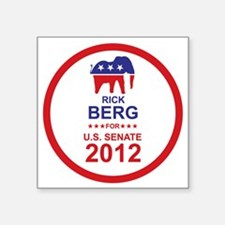 "2012_rick_berg_main Square Sticker 3"" x 3"""