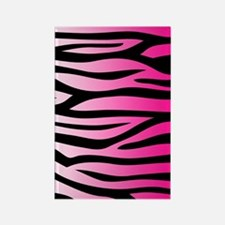 pink-gradient-zebra-4g-slider Rectangle Magnet