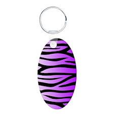 purple-gradient-zebra-4g-sl Keychains