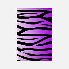 purple-gradient-zebra-4g-slider Rectangle Magnet