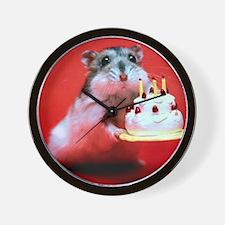 hamster-birthday Wall Clock