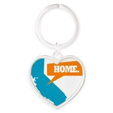 CaliHome Heart Keychain