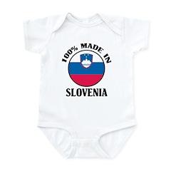 Made In Slovenia Infant Bodysuit