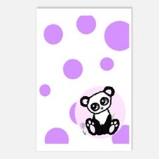 panda i Postcards (Package of 8)