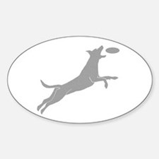 Disc Dog Oval Decal