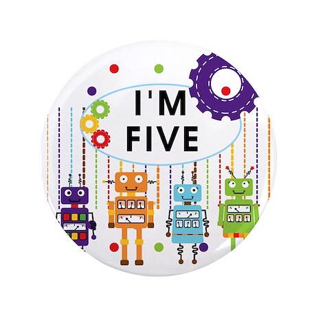 "ROBOTFIVE 3.5"" Button"