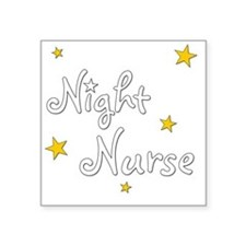 "nightnurse-dark Square Sticker 3"" x 3"""