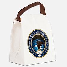 uscybercommand Canvas Lunch Bag