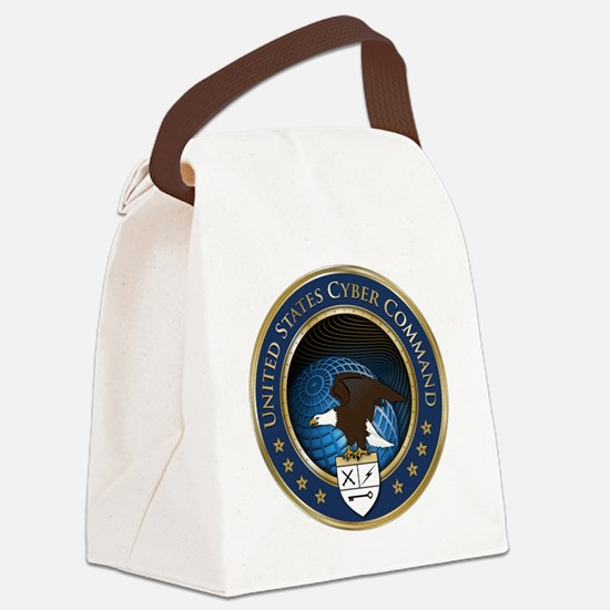 uscybercommand Canvas Lunch Bag