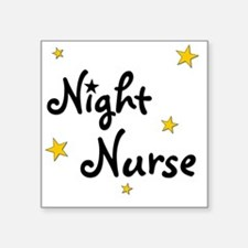 "nightnurse Square Sticker 3"" x 3"""