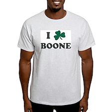 I Shamrock BOONE Ash Grey T-Shirt