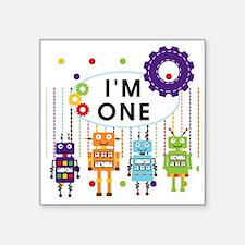 """ROBOTONE Square Sticker 3"""" x 3"""""""