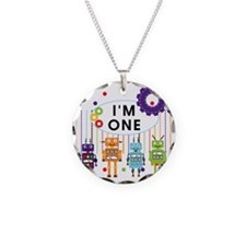 ROBOTONE Necklace Circle Charm