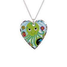OCTOPUSfirst Necklace Heart Charm