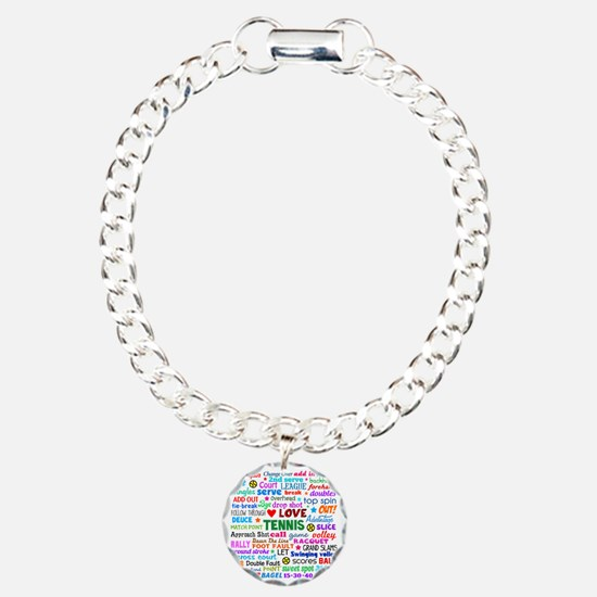 Tennis Names Shirt Bracelet