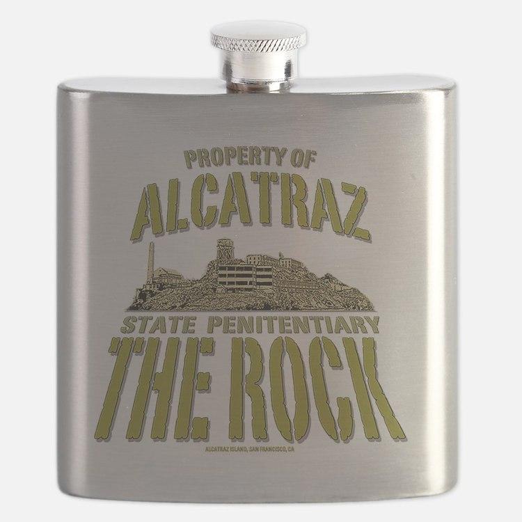 ALCATRAZ_THE ROCK_5x4_pocket Flask