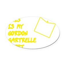 Gordon-Small-Pocket-Down Oval Car Magnet