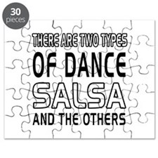 Salsa Dance Designs Puzzle