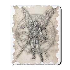 Archangel Michael Mousepad