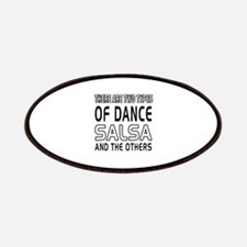 Salsa Dance Designs Patches