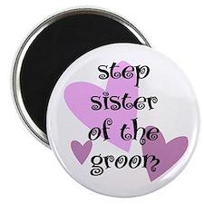 Step Sister of the Groom Magnet