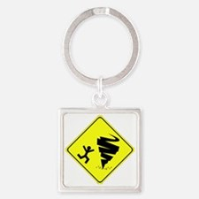 tw.gif Square Keychain